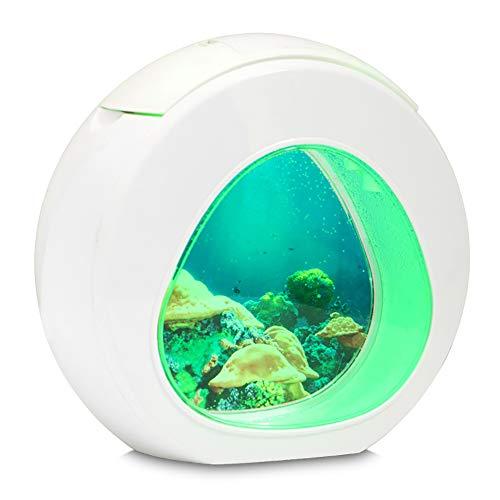 Fitbitt LED Lampe Nachtlicht - Jellyfish Lampe Kreative Bunte wechselnde Nachtlicht Künstliche Quallen Schwimmen Aquarium Meer Welt Stimmung Lampe für Kinder Geschenke Dekoration -