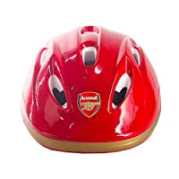 3StyleScooters® Arsenal F.C. SafetyMAX® Kids Cycle Helmet - Perfect for Cycling and Scooting - Adjustable Size Headband - For Kids Aged 3-7 Years Old