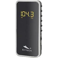 Sytech SY1639PL - Reproductor de radio, color plata