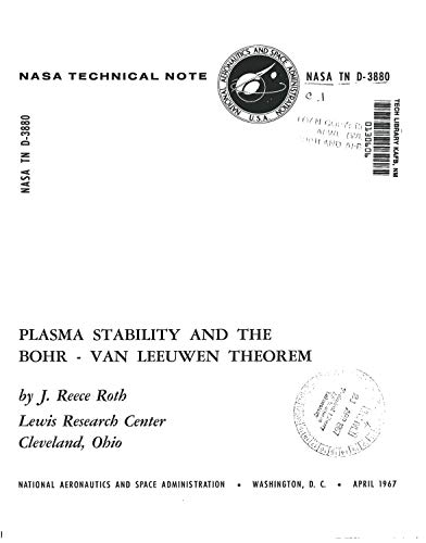 Plasma stability and the Bohr-Van Leeuwen theorem (English Edition)