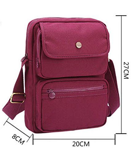 Hiking and Leisure, Borsa a spalla donna grigio viola