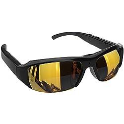 Flylinktech® Neueste HD 1080P 30fps Spy Kamera Sonnenbrillen mit DVR versteckte Brille Kamera