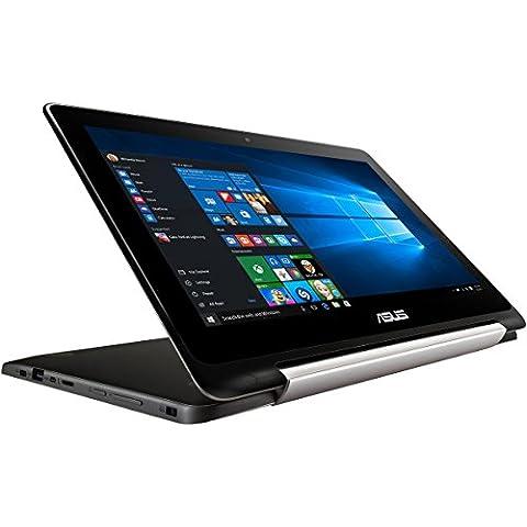 Asus Flipbook TP200SA 29,5 cm (11,6 pulgadas) convertible tablet PC (Intel Pentium N3700, 2 GB de RAM, 32 GB eMMC, Intel HD Graphics, Win 10 Inicio) de
