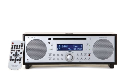 Tivoli Audio Model Music System Radio / CD-Player Kombination schwarz/silber (Tivoli Cd-player)