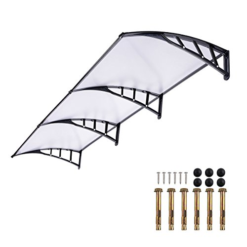 door-canopy-awning-270985cm-back-window-rain-snow-shelter-front-porch-outdoor-shade-patio-roof-cover