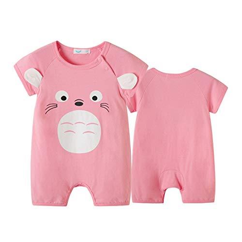 PAUBOLI Baby Totoro Bär-Kostüm, Baumwolle, Tierkostüm, 0-24 Monate Gr. 56, Pink - Totoro Kostüm Niedlich
