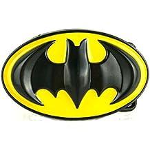 4e3bb8524628 Batman Western Jaune Noir super-héros en métal Boucle de ceinture