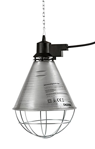 Kerbl 22280 Aktions Infrarot Wärmestrahler, 2.5 m Kabel
