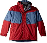 Columbia Men's Alpine Action Big & Tall Jacket, Red Element/Dark Mountain, 2X/Tall