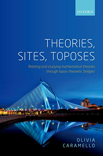 Theories, Sites, Toposes: Relating and studying mathematical theories through topos-theoretic 'bridges' (English Edition) por Olivia Caramello