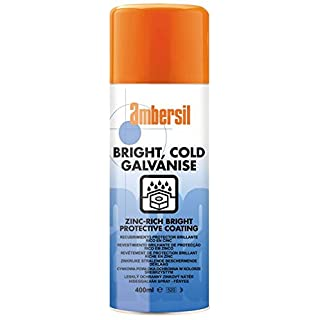 30291-AA AMBERSIL COLD GALVANISE SPRAY ZINC-RICH PROTECTIVE COATING - CATHODIC PROTECTION 400ML AEROSOL