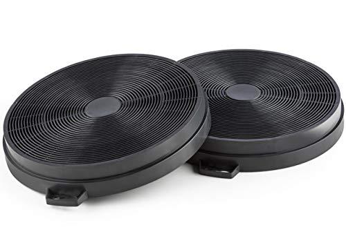 ELECTROHOGAR® 2 Filtros Carbón Activo 210 mm Campana Extractora Cata, Nodor, Electrolux,...