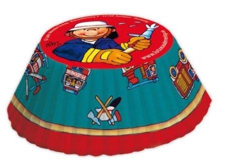 40 Muffinförmchen * Feuerwehr * von Lutz Mauder // 11183 // Kinder Geburtstag Party Kindergeburtstag Kinderparty Muffins Feuerwehrmann Feuerwehrmänner (Feuerwehrmann-backformen)