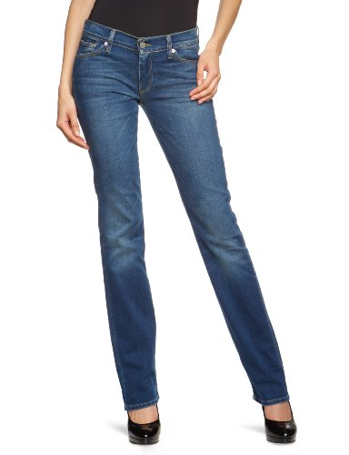 7 For All Mankind - Jeans, donna, Blu (Blau (Midnight Miami)), 38/40 IT (25W/34L)