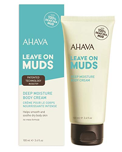 Ahava Leave On Muds Deep Moisture Body Cream 100ml