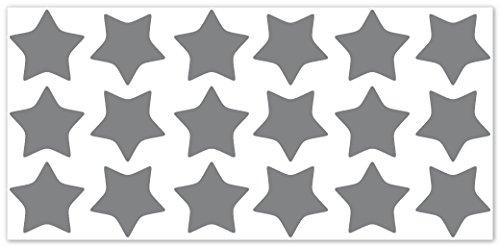 wallfactory-bike-decal-18-high-quality-stars-in-silver