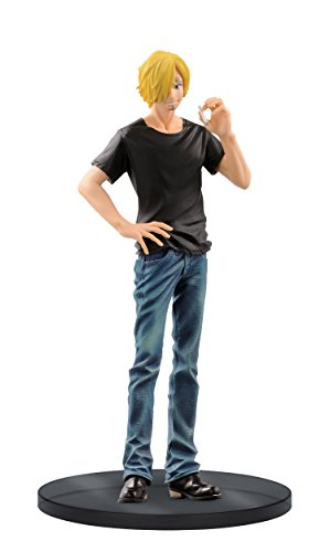 Banpresto One Piece 6.7-Inch Sanji Figure A (Blue Jeans), Jeans Freak Series Volume 8 by Banpresto 1