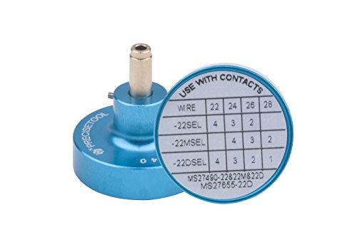 PRECISETOOL K40 Positioner/Locator for YJQ-W1A Wire Crimper?Crimp Contact M38999 Series 22#,22M#,22D# SOC M39029/56-348,56-349,56-350