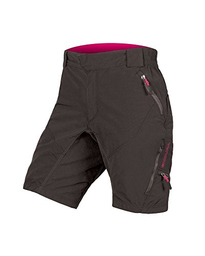 Baggy Mountain Bike Shorts (Endura Hummvee der Frau Baggy Mountain Bike Short II, Damen, Schwarz, X-Small)