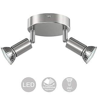 Creyer Orientabile Lampada da Soffitto – Color Nickel