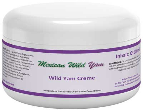 Nature Power Wild Yam Creme 100 ml
