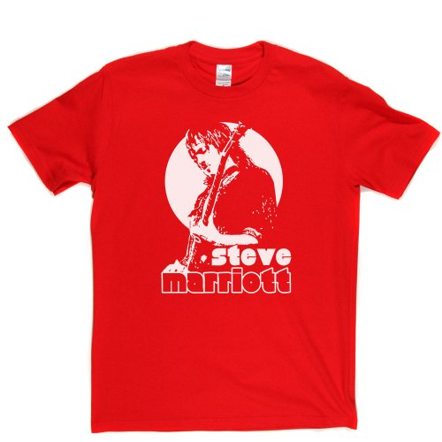 Steve Marriott English Musician Rock and Roll T-shirt Rot