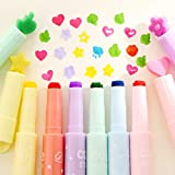 #4: HITTIME Owner Creative Colourful Highlighters Inks Fluorescent Stamp Pen Marker School Stationery
