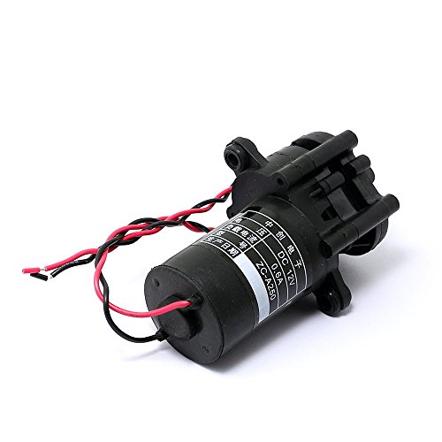 Mini Zahnradpumpe Self-Saugen Wasserpumpe (0-100 Grad) Korrosionsbeständige 12V