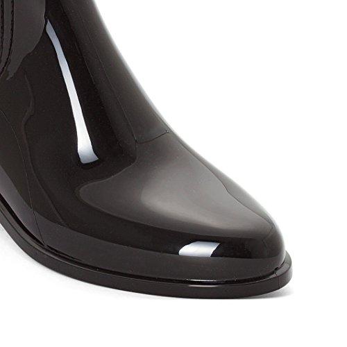 Lemon Jelly Damen Garda Chelsea Boots Schwarz (Black)