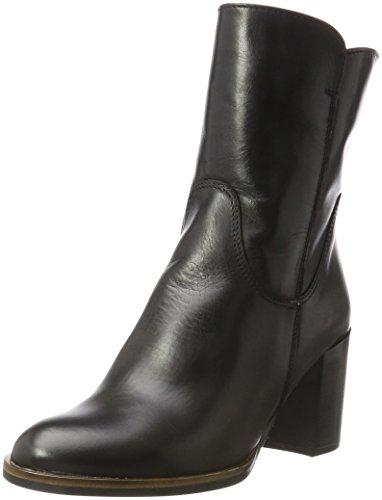 Tamaris Damen 25049 Stiefel, Schwarz (Black), 39 EU (Damen Schwarz Leder Stiefeletten)