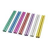 KIICN Protable Colle Thermofusible Adhesive Sticks Projets D'École De Décoration Bricolage Timbre 7 * 100mm Pratique