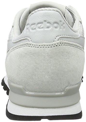 Reebok Classic Clip Tech, Sneakers Basses Homme Grau (Skull Grey/White/Black)