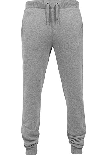 Urban Classics Hommes Straight Fit Sweatpants TB252, color:turquoise;taille:S