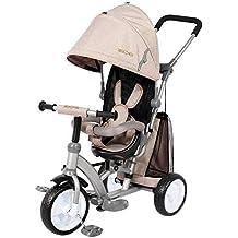 Ricco XG6019 - Cochecito para niños con Pedal de Tela Oxford y Asiento Reversible