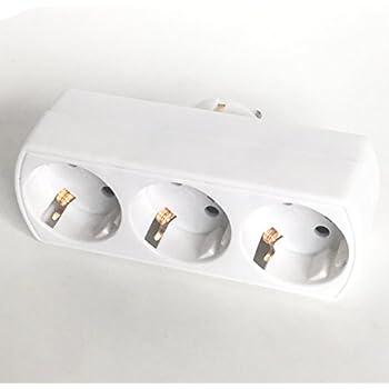 legrand leg50609 steckdosenleiste 3 fach typ e zur montage ohne kabel baumarkt. Black Bedroom Furniture Sets. Home Design Ideas