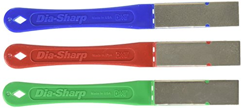 DMT dia-sharp Superior Diamant mini-hone Kit of C F E Messerschärfer - Mehrfarbig, 25 -