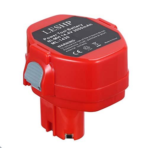 Batteria ricaricabile 14,4 V / 3,0 Ah 3000 mAh Ni-MH per trapano a batteria Makita 1430 Batteria per elettroutensili EU per regali di Nat