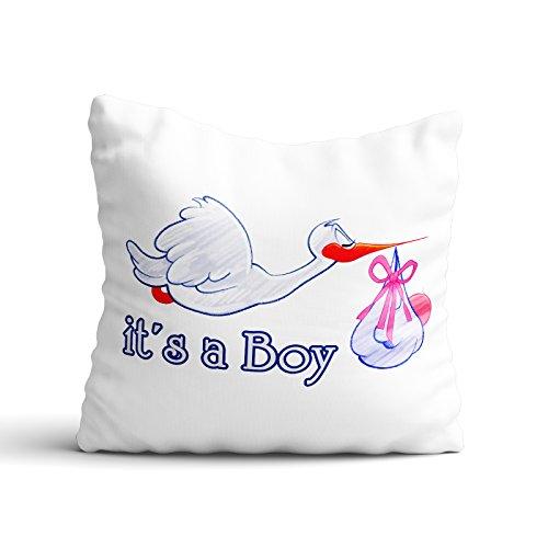 l / Boy / Angel - Junge / Mädchen / Kinder / Geburt / Baby, Design:Design 1, Kissen:Standardkissen (Baby Girl 1. Geburtstag-thema-ideen)