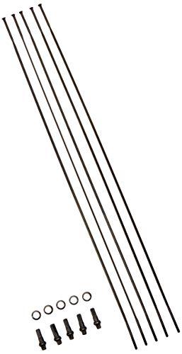 Sapim cx-ray Pack von Tyros 5Speichen gerade (Straight Pull), Farbe, Schwarz, 259mm -