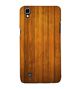 Beautiful Wood Design 3D Hard Polycarbonate Designer Back Case Cover for LG X Power