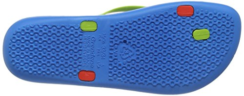 Ipanema Mix, Tongs Fille Bleu (Blue/Red)