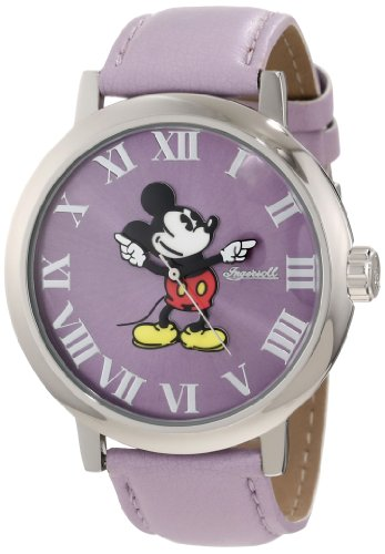 Disney by Ingersoll 26129 Ladies Mickey Lilac Watch