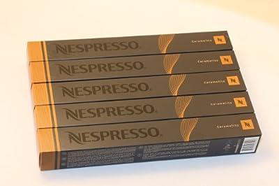 NESPRESSO Espresso Caramelito - Variations - 50 Cápsulas
