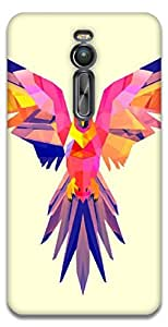 The Racoon Lean Pastel Parrot hard plastic printed back case / cover for Asus Zenfone 2 ZE551ML
