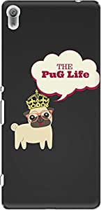 The Racoon Grip PUG Life hard plastic printed back case/cover for Sony Xperia XA Ultra