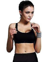 Encounter Femme Soutien-gorge de Sport Sous-vêtements Bra Brassière pour jogging Yoga Gym Fitness