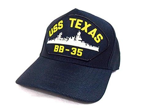 Army cap Navy Battleship warship Bridge American USS TEXAS BB - 35