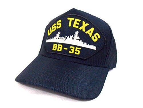 Preisvergleich Produktbild Brücke Schiff Military Cap Navy Battleship Platzset USS TEXAS BB - 35
