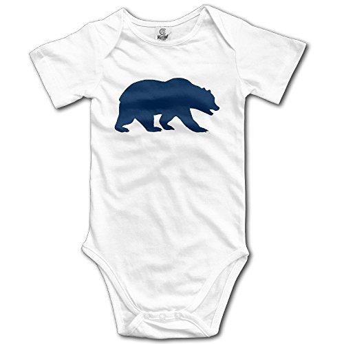 IGENERAL Cal Berkeley Bear Logo California Strength Baby Onesie Infant Clothes