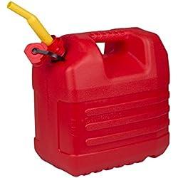 EDA - Jerrycan à essence - Avec bec - 20 Litre - Rouge